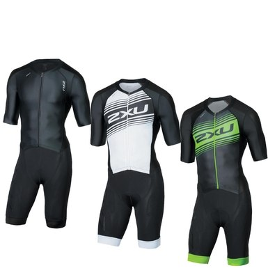 4d5604d2456660 2XU Compression Full Zip Sleeved Trisuit Men MT4838d